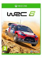 WRC 6: FIA World Rally Championship [XBOX ONE Racing Cars 2016] NEW