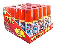 SCREEN GUARD (25 CANS) Original Spray Foam Cleaner LCD, LED Plasma  TV's