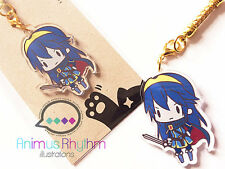 Crystal Clear Acrylic straps charm: Fire Emblem Heroes Awakening Lucina game