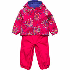 $90 Columbia 6-12 month toddler ski bib Snowfall Fun coat pants jacket girl Buga