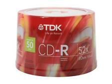 TDK 700MB 52X CD-R 50 Packs Discs Model 47896