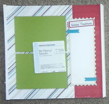 CREATIVE MEMORIES TRUE 12x12 BE MERRY / NORDIC FAST TO FABULOUS PAGES BNIP & NLA