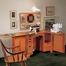 Deluxe Sewing Center Plan - Media   Woodworking Plans   Indoor Project Plans