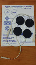 TeNS facial electrodes. Pack of 4 (2 pairs).