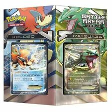 Pokemon Battle Arena Deck Rayquaza vs. Keldeo New IN HAND READY TO SHIP FREE box