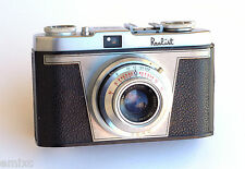 (c1954)  ● White REALIST (Iloca Rapid US market) Model A ● Steinheil Cassar f2.8