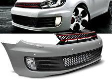 STOßSTANGE, KÜHLERGRILL, VW GOLF 6 GTI STIL PDC, löcher für sensoren