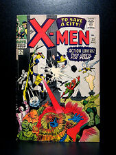 COMICS: Marvel: X-men #23 (1966, Vol 1), Count Nefaria app - RARE (avengers)