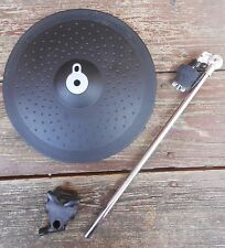 "Yamaha PCY155 15"" Three-Zone Electronic Cymbal Pad with mounting h/w and clamp"