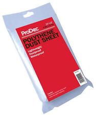 ProDec 15ft x 12ft Polythene Dust Sheet 4.6m x 3.6m Decorators Cover PDPY003