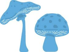 Marianne CREATABLES Die Cut & Embosssing Stencil MUSHROOMS 2pc - LR0372