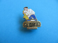 Thomson Getto Blaster pin badge, VGC, Enamel. Saxaphone