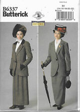 """6337 NEW HISTORICAL """"MARY POPPINS"""" STYLE SUIT COSTUME Pattern Sz 14-22  Butteric"""