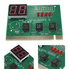 PCI PC Diagnostic 2 Digit Card Motherboard Post Tester Analyzer Checker Notebook