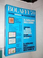 BOLAFFI 70 Catalogo nazionale dei francobolli italiani SCOT 1970 filatelia libro