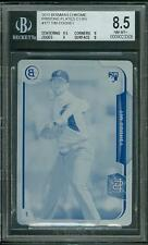 2015 Bowman Chrome Printing Plate Cyan Tim Cooney #177 BGS 8.5 Sub 9.5 Rookie