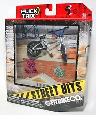 Flick Trix Display Case And Finger Bike STREET HITS FITBIKECO with WALL GAP