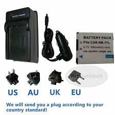 NB-11Lh Battery + charger For Canon PowerShot SX400 SX410 iS ELPH 340 HS