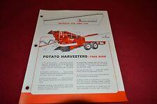 Allis Chalmers 230 240 Potato Picker Harvester Dealer's Brochure DCPA3