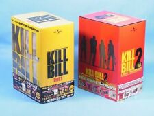KILL BILL Vol. 1,2 Premium DVD BOX Limited 30,000 W/ OBI Japan T-shirt Be@rbrick