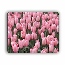 """Computer Mouse Pad Home and Office Tulip Garden Collage Size  8""""x 10"""""""