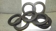 """Wrought Iron Forged Rings Ornamental Gate Fence Handrail SOLID 1/2"""" Bar Stock"""