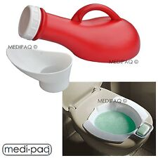 MEDIPAQ™ Unisex Portable URINAL + BIDET Pack - Home Car Travel Children Holiday