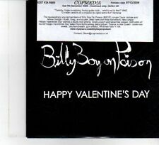 (DW480) Billy Boy On Poison, Happy Valentine's Day - 2009 DJ CD