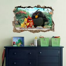 "angry birds movie wall decal 29"" children's bedroom playroom party decor sticker"