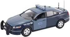 NEW LATEST FORD OFFICIAL MASSACHUSETTS STATE POLICE CAR.  RARE FIRST RESPONSE