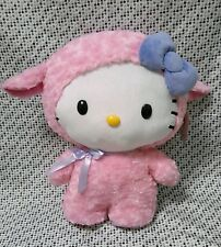 "Large 20"" Hello Kitty Lamb Standing Easter Porch Greeter Plush Room Decor NWT"