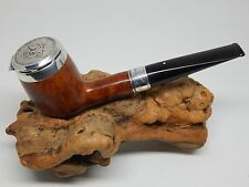 RARE DUNHILL JFK COMMEMORATIVE ROOT BRIAR W/50 CENT PIECE STERLING WIND CAP