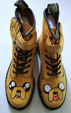 Adventure Time Jake Dr. Doc Martens Boots UK 7 Mens US 8 Womens US 9 + RARE Toys