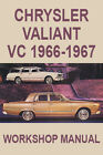 CHRYSLER VALIANT VC 1966-1967 WORKSHOP MANUAL