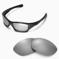 Walleva Titanium Ti Polarized lens for Oakley Pit Bull