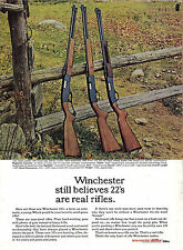 1962 Winchester .22 RIFLE AD 250 Lever-Action 290 Semi-Auto 270 Pump-Action *