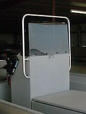 boat windshield, fiberglass center console, center console windshield