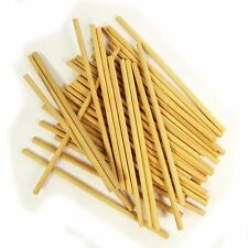 Dowel Sticks || Wooden (Pack of 50) - 15cm x 0.5cm