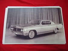 1963 OLDSMOBILE STARFIRE COUPE  11 X 17  PHOTO   PICTURE