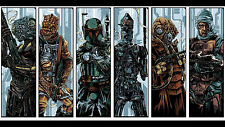 Poster 42x24 cm Caza Recompensas Boba Fett Star Wars Bounty Hunter