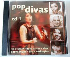 POP DIVAS Vol 1 - CHER/ TINA TURNER/ DOLLY PARTON/..... CD Neuf (A1)