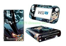 SAO Sword Art Online Anime Kirito Vinyl Skin Sticker Decal Protector for Wii U