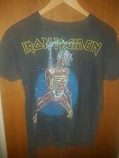 Iron Maiden vintage original tour shirt 80s Somewhere In Time heavy metal rock