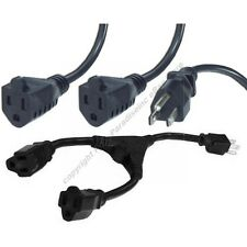 Y Splitter Power Strip Liberator Cable/Cord $SHIP DISC