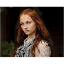 Game of Thrones Sophie Turner as Sansa Stark Serious 8 x 10 Inch Photo