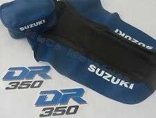 KIT SEAT COVER & TANK DECALS, REAR FENDER BAGS SUZUKI DR 350 ,FREE SHIPPING!!
