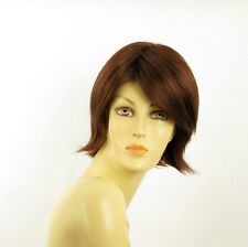 short wig for women dark brown copper REF ROSY 31 PERUK