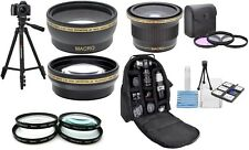 18Pc Super Saving HD Accessory Kit For Canon EOS Rebel T5i T4i T5 T3i T2i T1 SL1