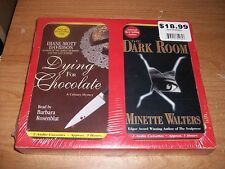 The Dark Room + Justice + Dying For Chocolate (4 Audio Books 8 Cassettes Set)