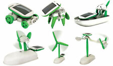 6 in 1 Solar Toy Kit Educational Hybrid Game for Kids DIY. No Battery Needed.